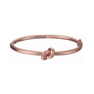 KATE SPADE • Sailor's Knot Bangle • Rose Gold